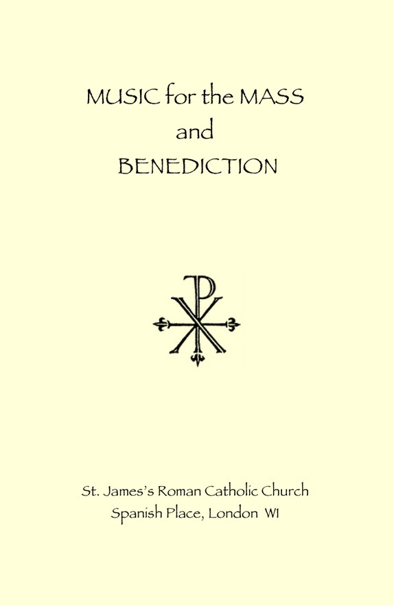 Music for the Mass and Benediction cover JPEG